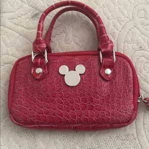 Disney leather wallet